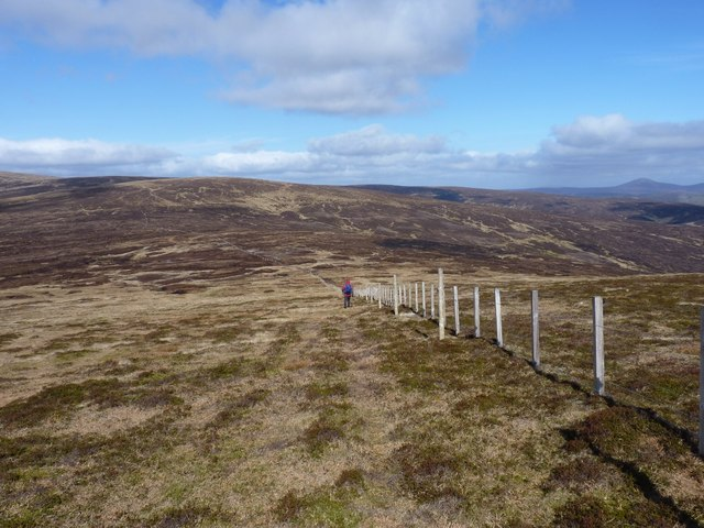 Heading down White Hill towards Cairn Trench