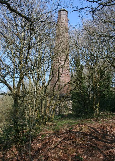 Mine chimney on Resting Hill