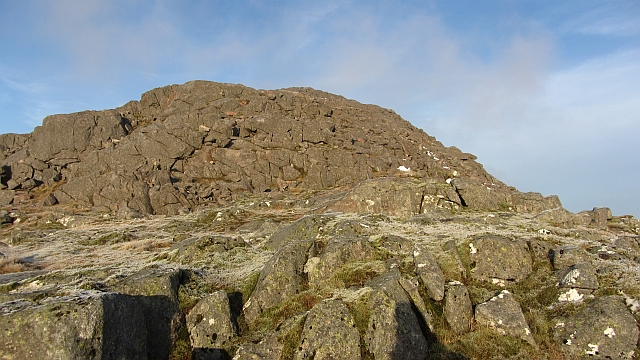 North top of Meall Garbh