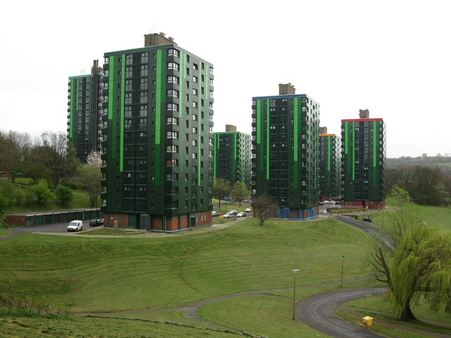View of Callow Flats