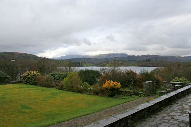 View from The Cragwood Country Hotel Terrace
