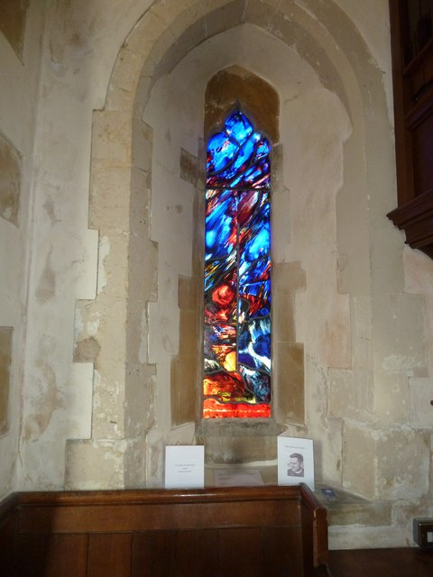 St Pancras, Kington Near Lewes: Michael Scott window