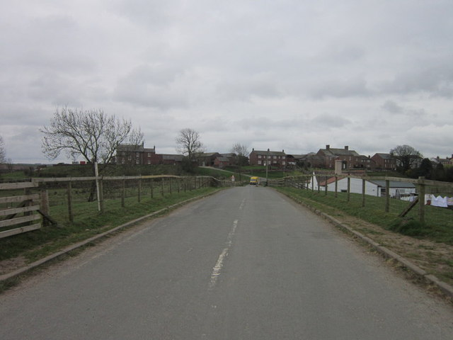 The road to Boustead Hill