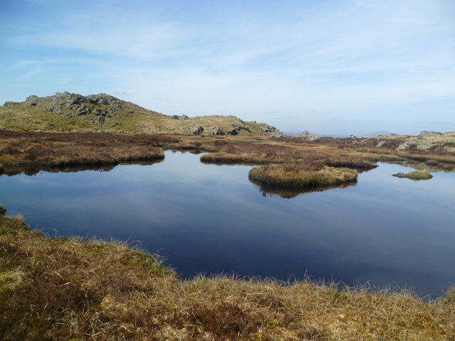 Unnamed Llyn on Cefn Glas