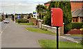 J5180 : Letter box, Bangor by Albert Bridge