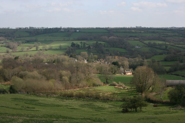Madford Valley from above Abbey Wood