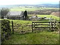 SE0320 : Gate on Ripponden Footpath 15, Soyland by Humphrey Bolton