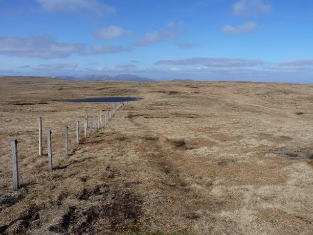 Boundary fence on the northwest side of The Goet