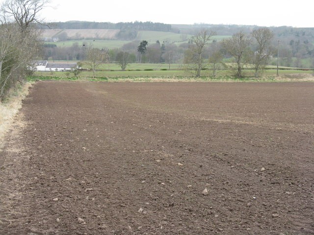 Farmland near Lanton