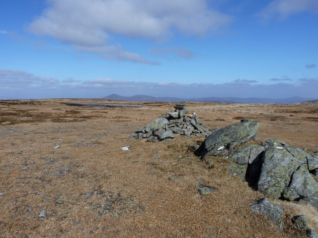 Summit cairn on Green Hill