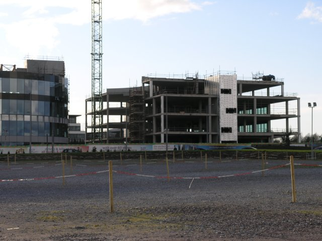 New offices under construction in Blackrock