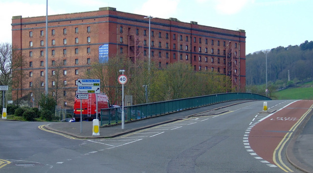 Former tobacco warehouse