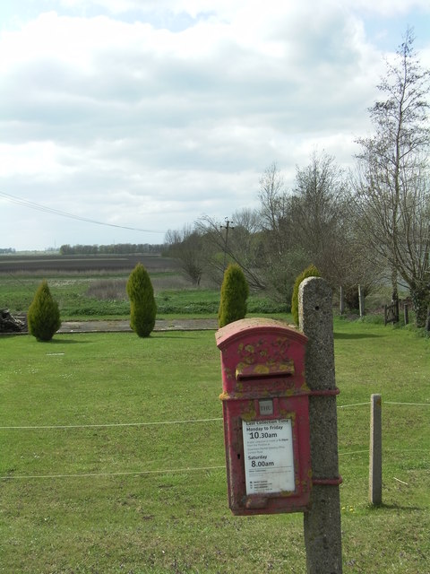 Weathered Postbox