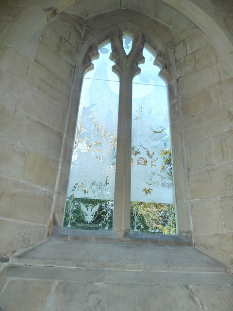 St Mary, Newick: decorated window (1)