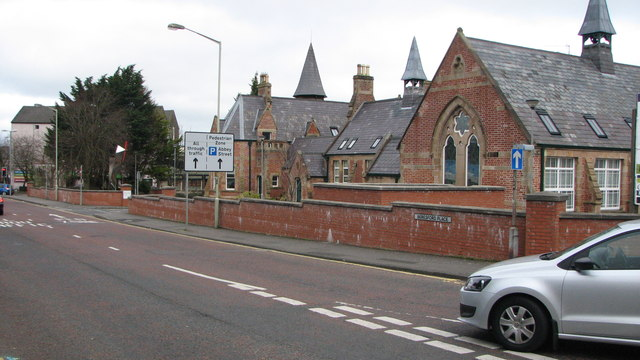Irish Society School building
