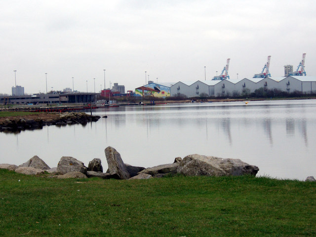 Marine Lake. Crosby Coastal Park
