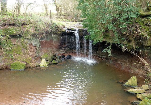 Waterfall near Chew Stoke