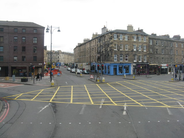 Tollcross, from the top of a bus