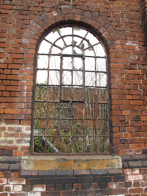 Through the arched window
