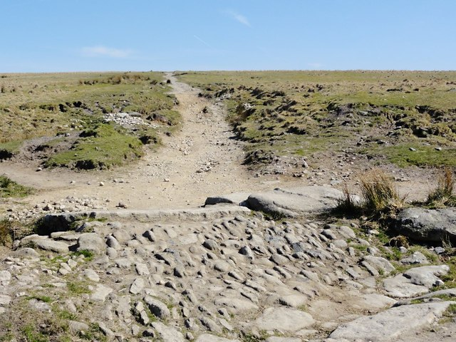 The Track to Eylesbarrow