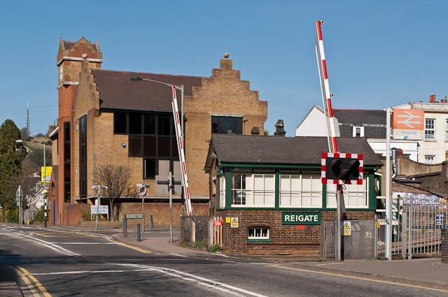 Reigate Level Crossing
