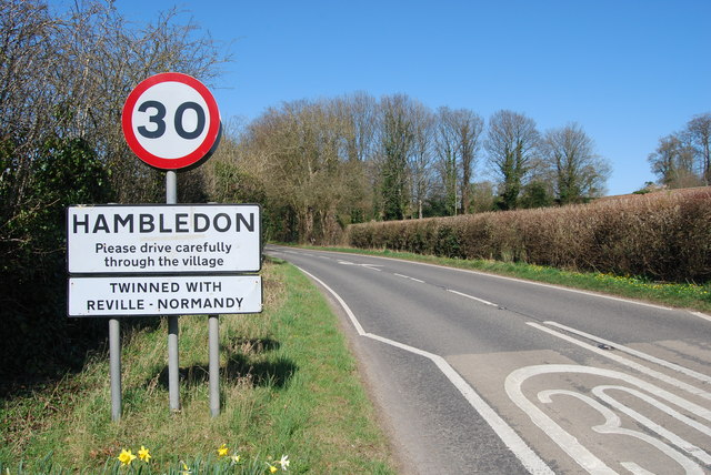 Entering Hambledon