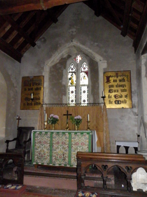 Interior, The Church of the Holy Rood