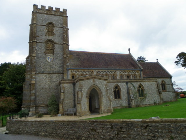 The Church of St John the Baptist, Hawkchurch