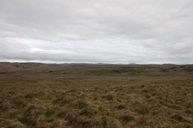 Boggy Moorland south of Storakaig, Islay