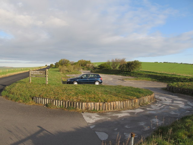 Car Park for the Devils Dyke Approach Picnic site