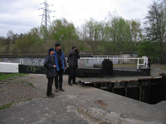 Tinsley locks on the Sheffield & Tinsley Canal