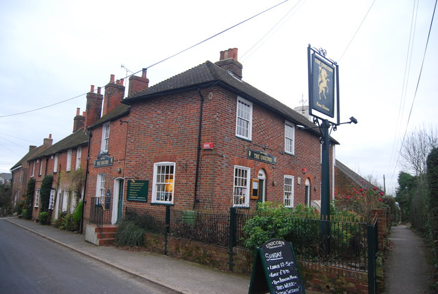 The Unicorn, Bekesbourne Hill