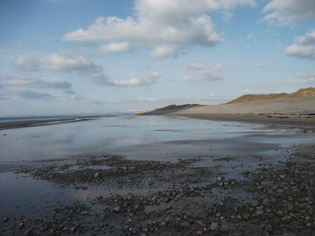 Beach looking north