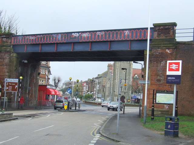 Railway bridge, Folkestone