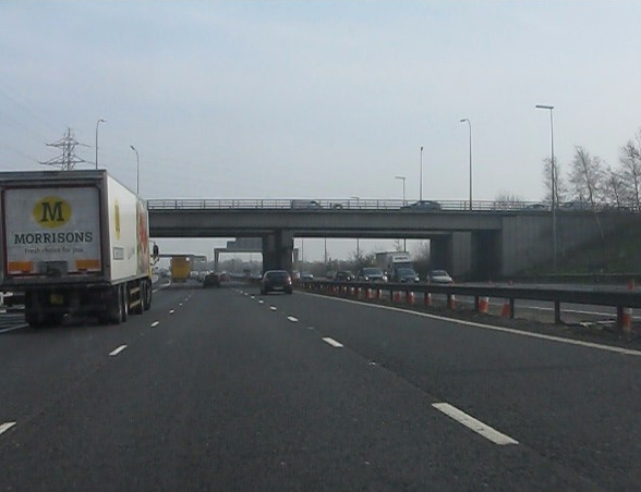 M6 motorway - A574 bridges