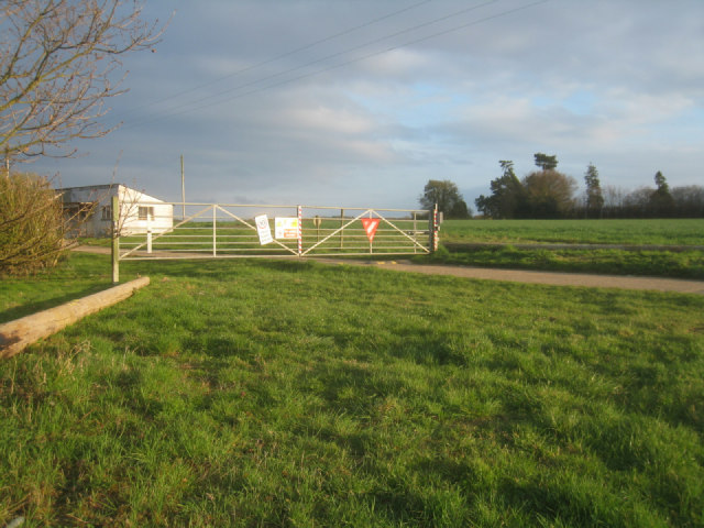 Coded gate access - Breach Farm