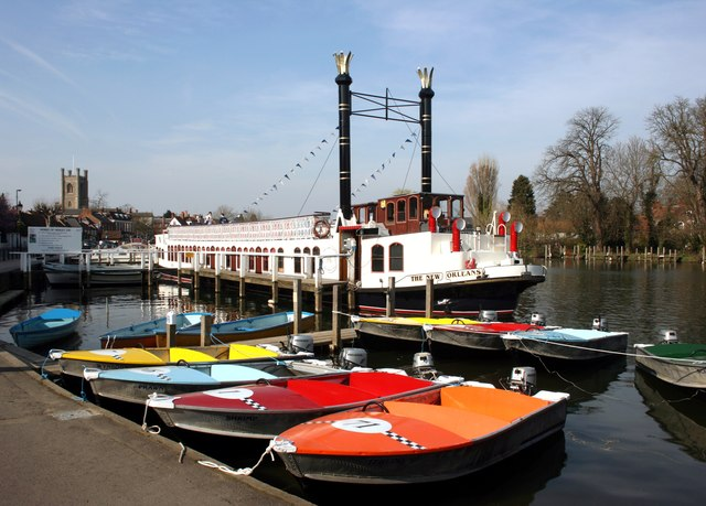 River Boats at Henley