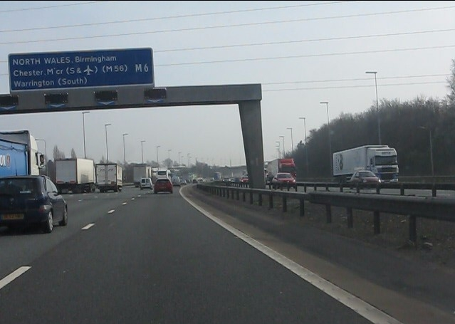 M6 for North Wales?