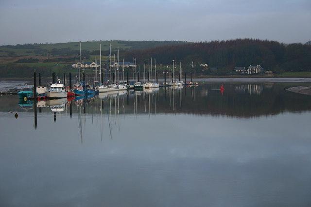 Leisure craft jetty