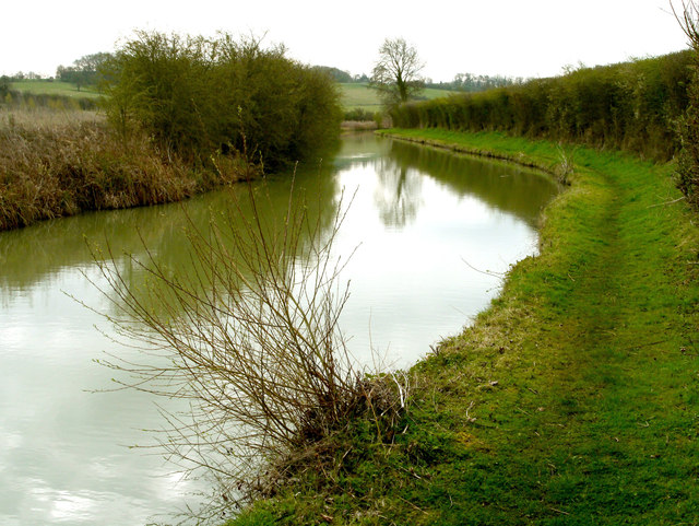 The Oxford Canal at Wormleighton