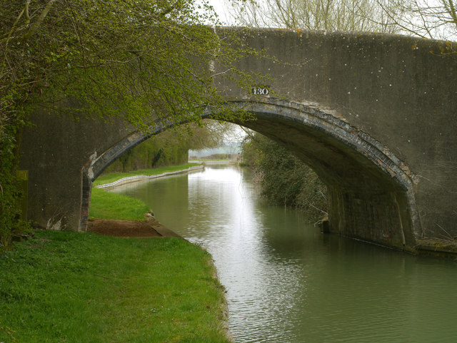 Bridge 130 on the Oxford Canal