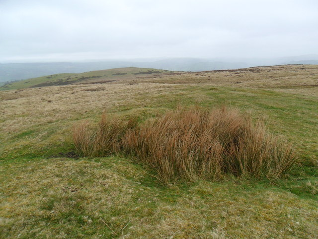 Summit of Pen Coed
