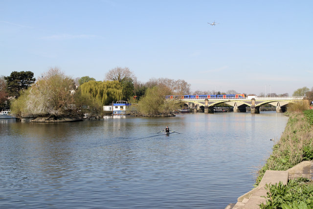 The River Thames At Richmond