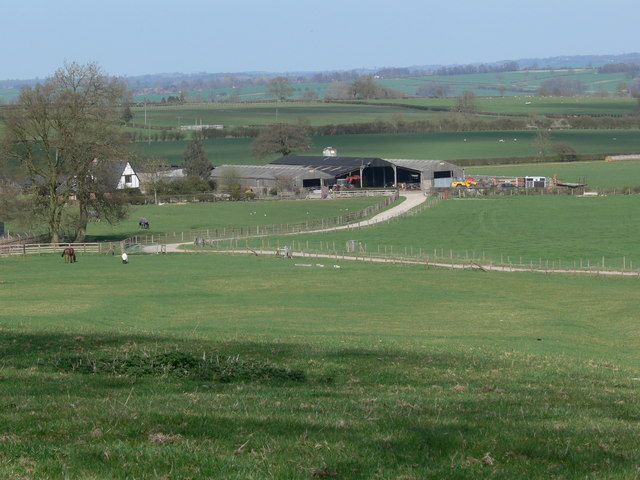 Thornhill Farm near Gumley