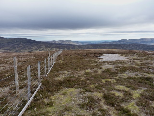 Fence near the summit of Mudlee Bracks