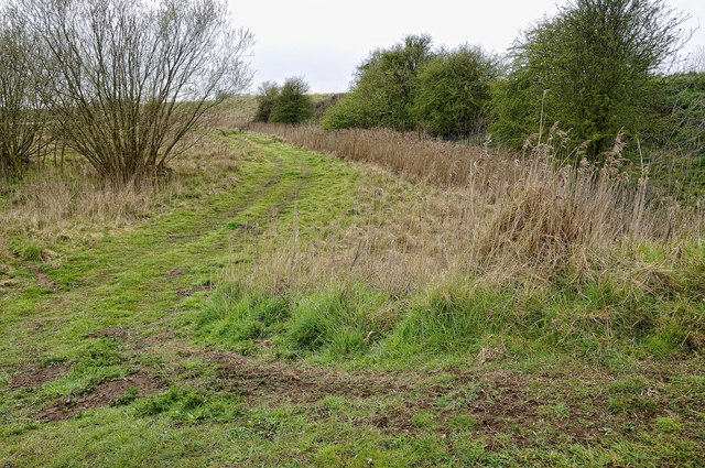 Isolated public footpath