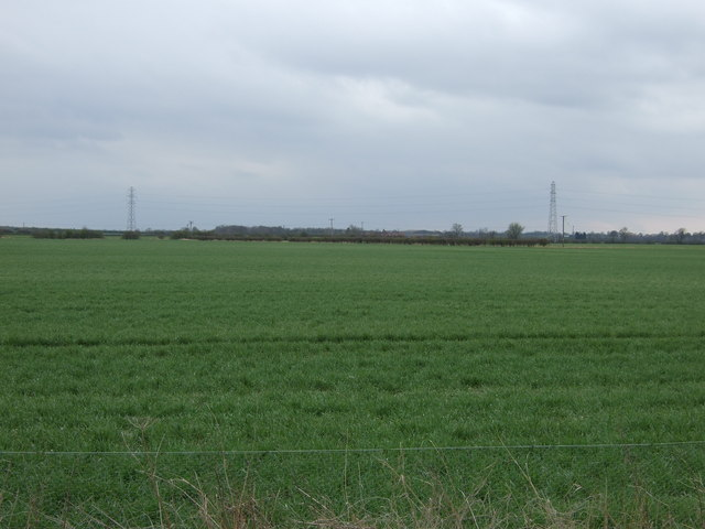Farmland off Orston Lane