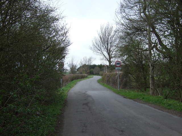 Bottesford Lane towards Orston