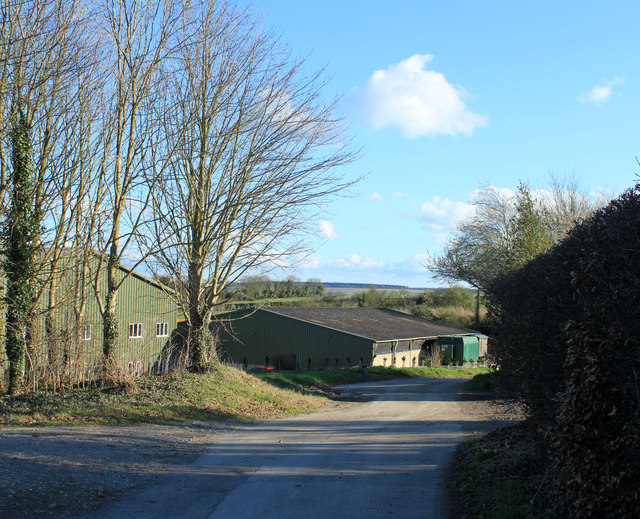 2012 : Farm road and bridleway at Parry's Field Barn