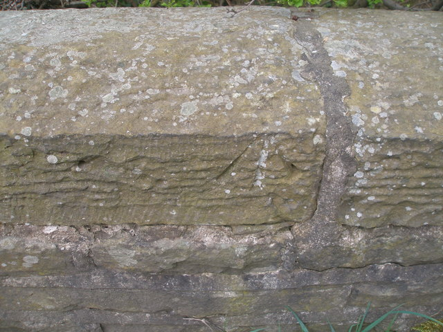 Benchmark on Woodsome Bridge